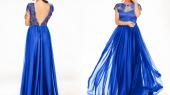 De ce sunt apreciate rochiile de seara albastre in anumite ocazii?
